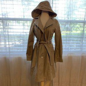 Mossimo size medium tan trench coat